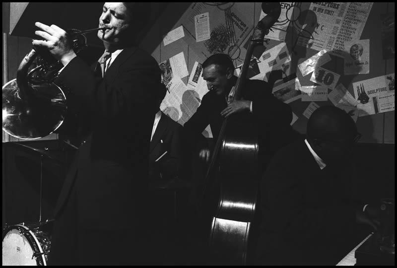 Beat Scene 1957. David Amram (Burt Glinn Magnum Photos)