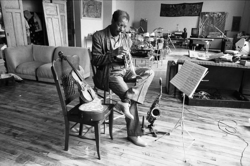 Ornette Coleman by David Gahr, Getty, 1986