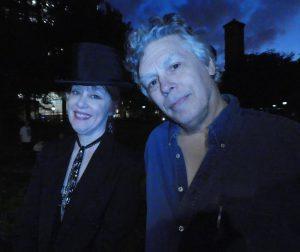 Suzanne Vega and David Massengill - fast friends from the 1980s Fast Folk scene in the Village