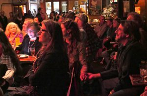 Happy crowd at Talkin' New York Folk Revival at the legendary Bitter End