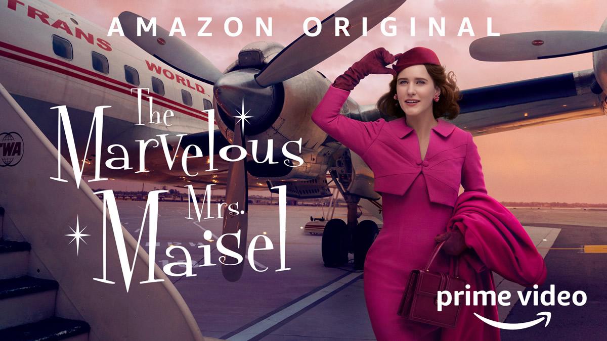 The Marvelous Mrs Maisel banner