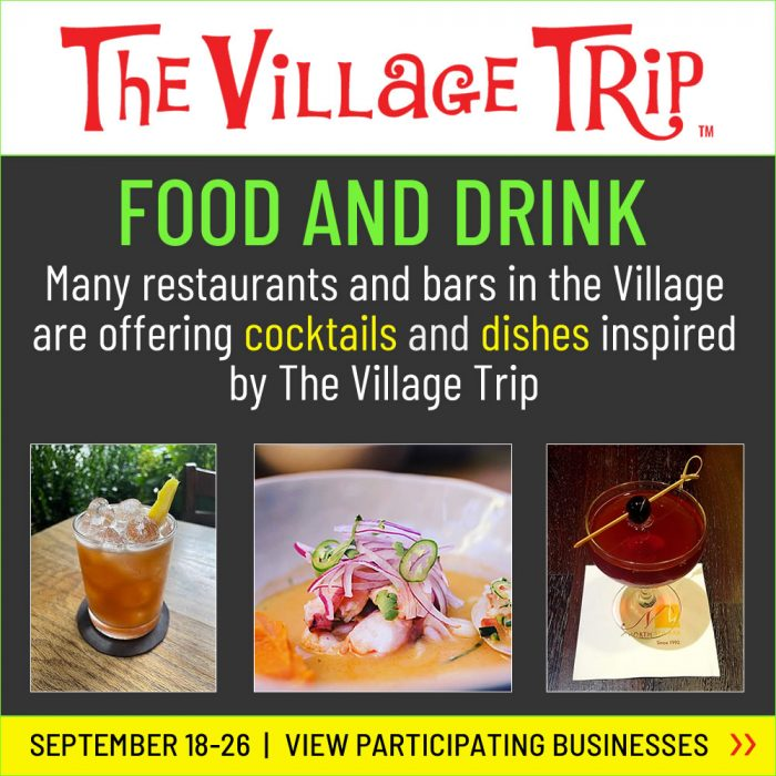 Food and Drink at The Village Trip