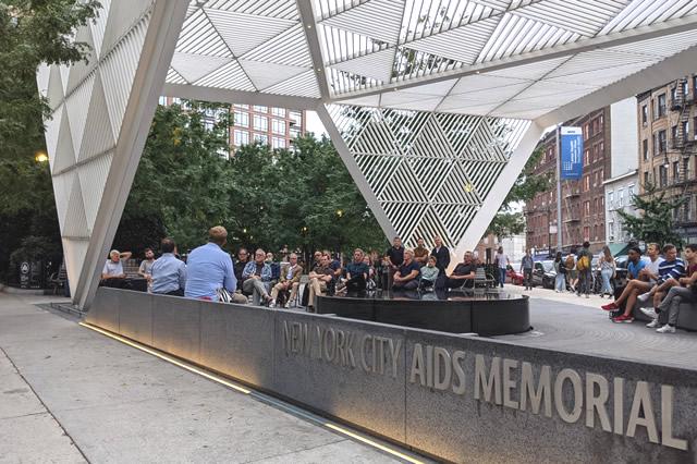 New York City AIDS Memorial event